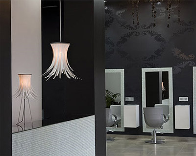 Hair Salong Design and Lighting