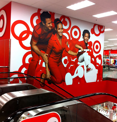 target store interior. Store Interior Branding