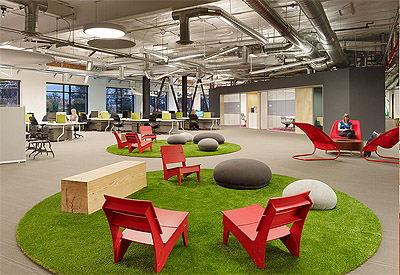 Office Design Circular Rugs