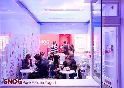 Yogurt Store Design