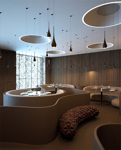 Whimsical Restaurant Design In Ukraine Commercial Interior Design