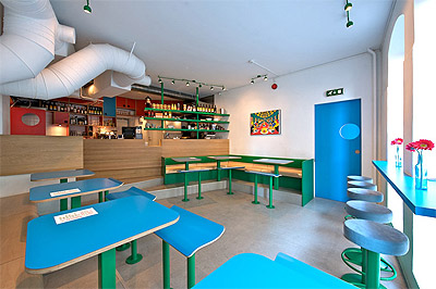Small Restaurant Design in Norway - Commercial Interior Design