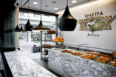 Bakery Interior Design and Branding