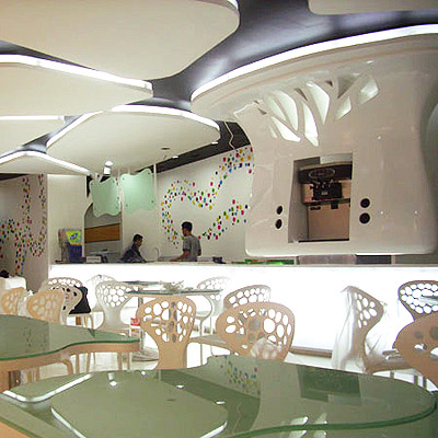 Yogurt Shops Design