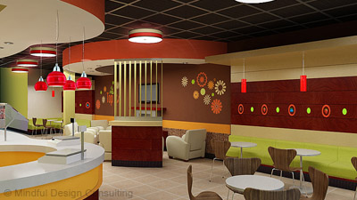 Yogurt Shop Interior Design Mindful Design Consulting
