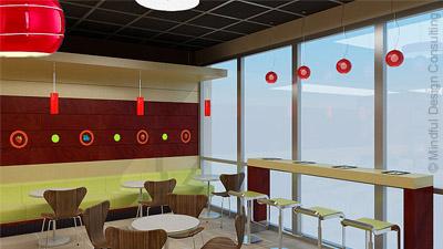 Yogurt Shop Interior Design Mindful Design Consulting