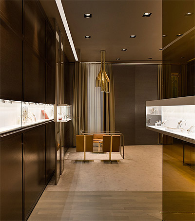 Jewelry Store Design in Milan - Commercial Interior | Mindful
