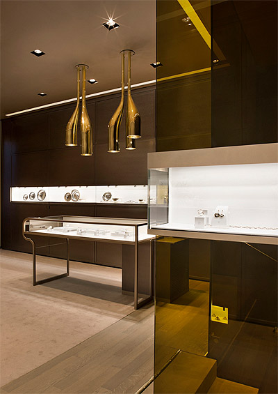 Jewelry Store Design in Milan - Commercial Interior | Mindful ...
