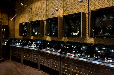 jewelry store in paris commercial interior news