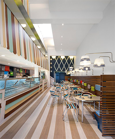 Store on Italian Family Ice Cream Shop Reinvented   Commercial Interior Design