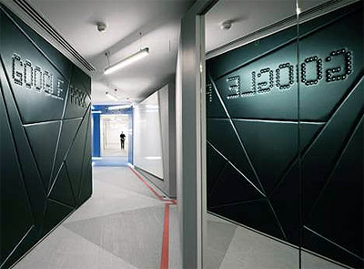 Google Office Design in London - Commercial Interior Design News ...