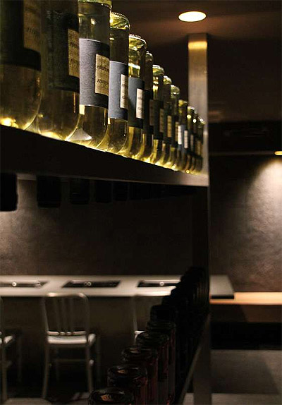 Cave Dining Experience In London Restaurant Interior