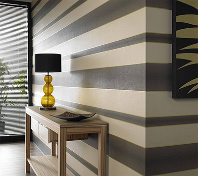 Modern Striped Wall Paints Designs Interior Decorating