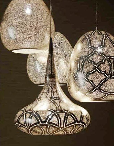 Traditional Egyptian lighting design