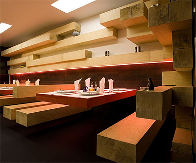 Modern Restaurant Design In Tehran Commercial Interior Design News