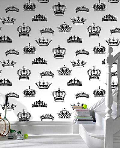 Crowns wallpaper pattern