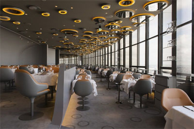 restaurant inteior design in paris