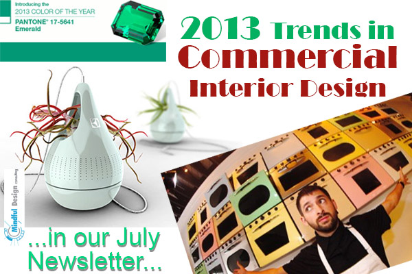 Latest tends in commercial interior design of 2013 for Interior design styles 2013