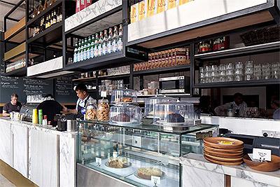 Simple but Unique Café Interior Design in Singapore - Commercial ...