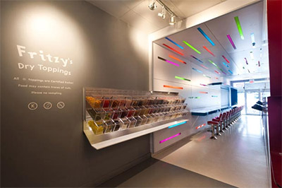 Modern Candy Store Design In Toronto Commercial Interior