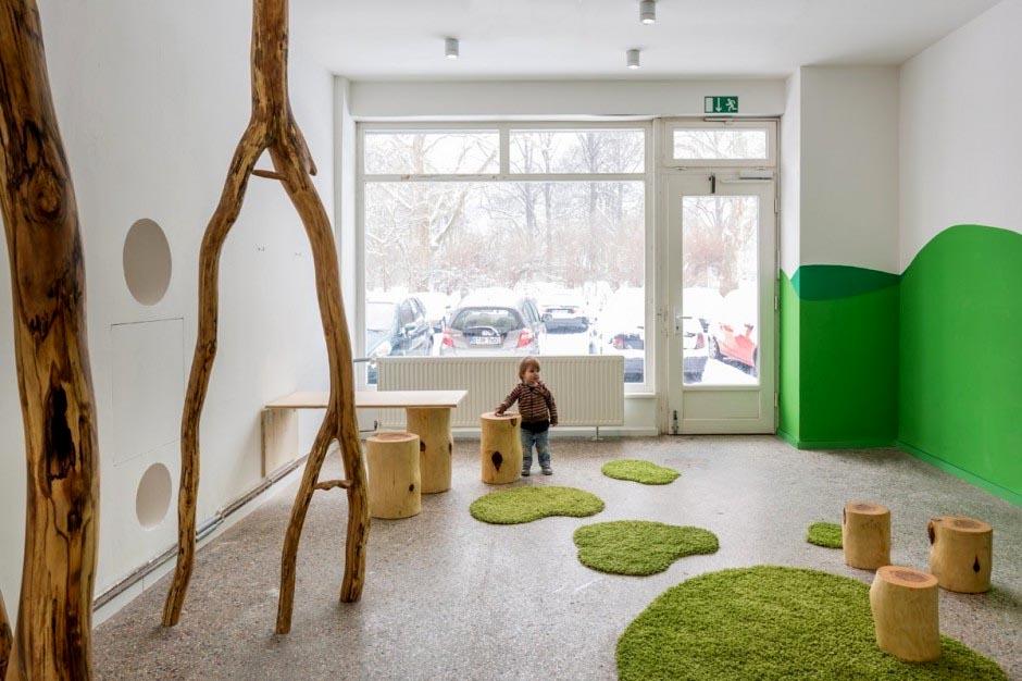 Inspiring school interior design in germany commercial for Interior design academy