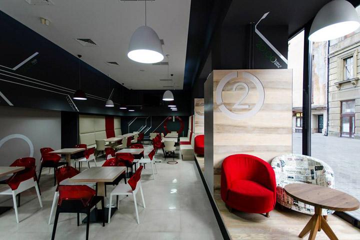 Tempo patisserie sleek interior design commercial for Interior design consultation