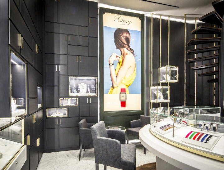 Jewelry store 39 s sophisticated interior design commercial for Store interior design