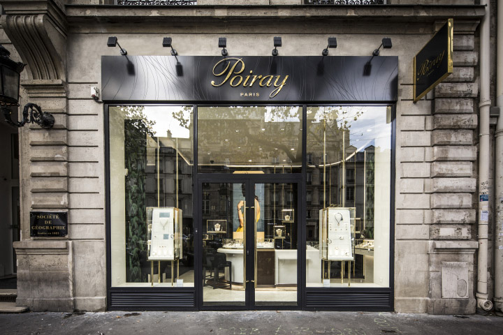 Luxury Watches Store Facade