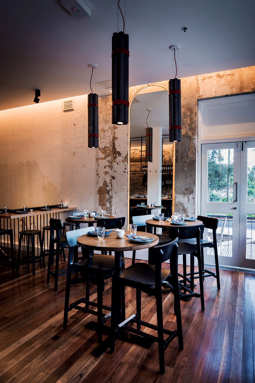 Sustainable Restaurant Design Lighting