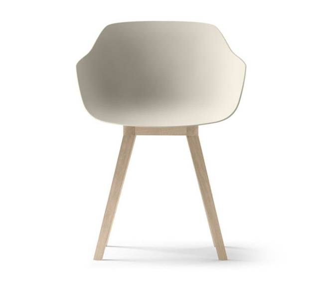World s first bioplastic chair is entirely recyclable commercial interior d - Chaises design grises ...