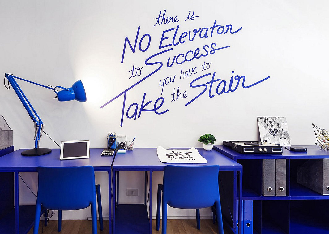 working office commercial interior design mindful design