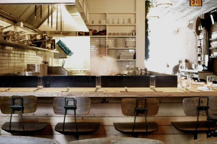 Repurposed Materials Give Restaurant Some Flair Commercial Interior Design
