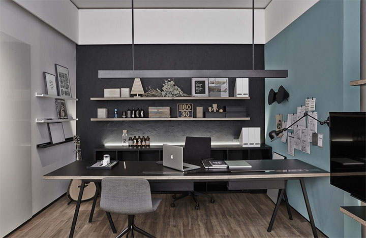 Minimalist office design proves simplicity is a winning for Modern minimalist office design