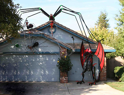 one apparent question about halloween is what does the word itself mean here is what i was able to find out the name is actually a shortened version of - Giant Halloween Spider