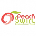 Peach Swirl Logo Design By Mindful Design Consulting