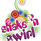 Shake'n Swirl Logo Design By Mindful Design Consultin