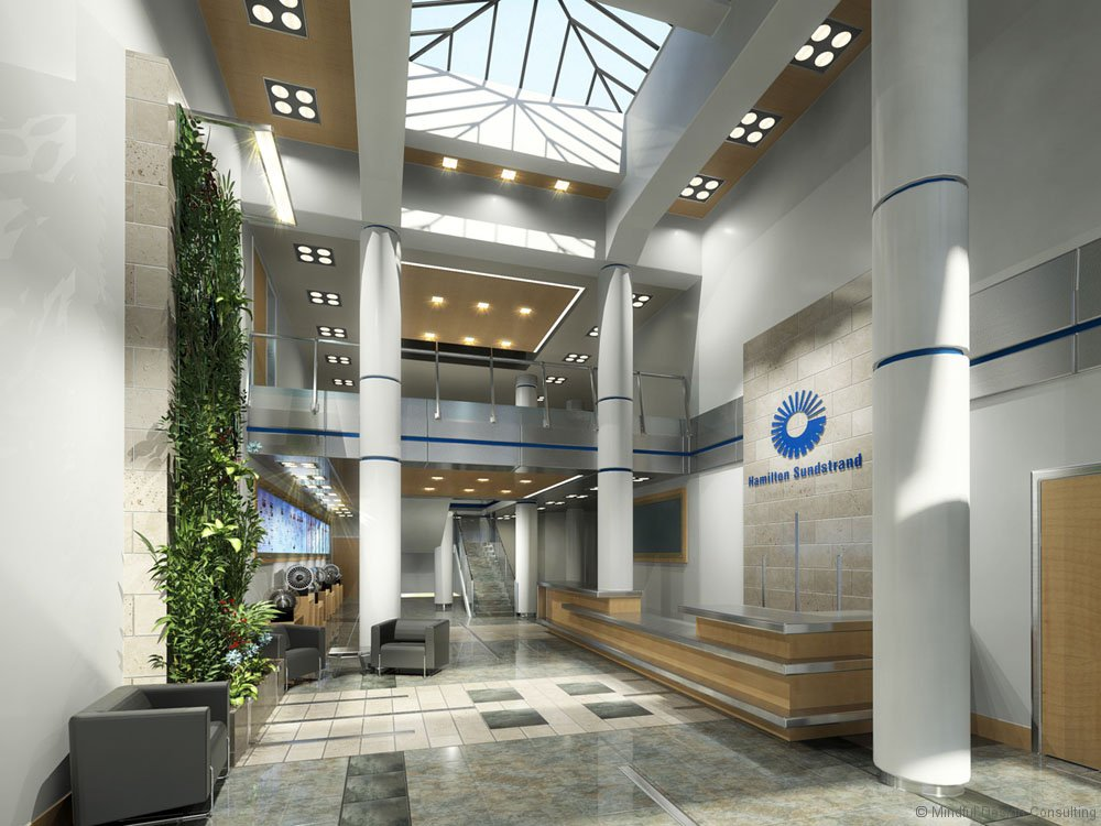 Corporate Office Hamilton Sundstrand Lobby, San Diego, CA