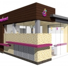 My Yogurt Shop Kiosk, Mission Valley, San Diego CA