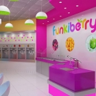 New York, NY - Yogurt Shop Design and Branding - Funkiberry