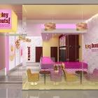 Holey Donuts Store Interior Branding, NY, NY