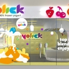 Yolick Yogurt Shop Window Design