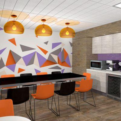 Atlas Mechanical Office Interior Design