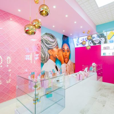 Beauty Bakerie Store Interior Design