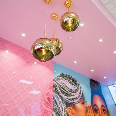 Beauty Bakerie Store Interior Design
