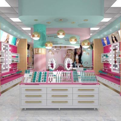 Beauty Bakerie Store Interior Design - 3D model