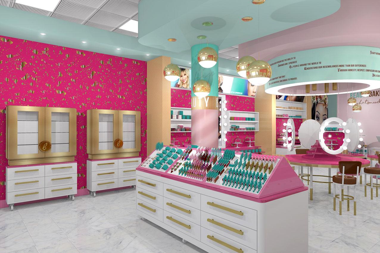 Beauty Bakerie Store Interior Design - 3D model
