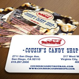 Store business cards design