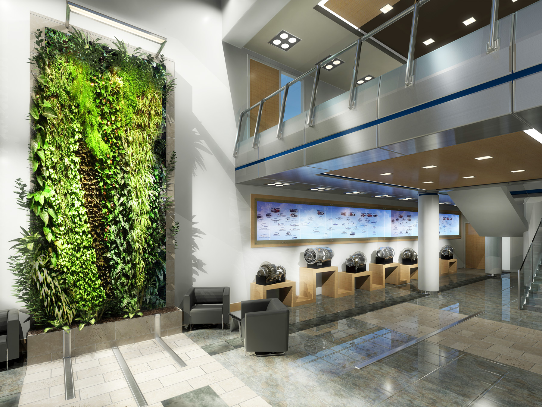 Hamilton Sundstrand Office Interior Design