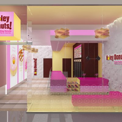 Holey Donuts store interior design