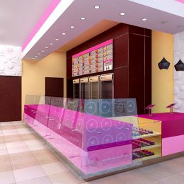 Holeydonuts store interior design
